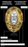 SF Career Badge Lapel Pin