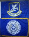 Defensor Fortis and AFSFA Flags